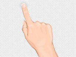 手指按指纹