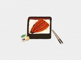 24节气白露主题食物饭菜手绘插画