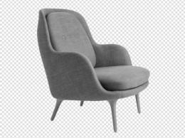 高级舒适的沙发实物