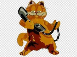 拨打电话 热线电话 矢量 卡通