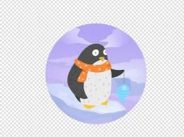 世界动物日可企鹅免抠PNG素材