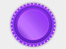 618紫色音响舞台促销装饰小元