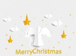 圣诞节快乐白色天使