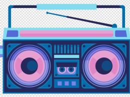 酷炫复古收音机图标设计
