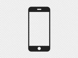 iPhone电话智能手机设备图标