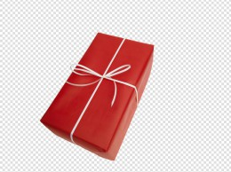 红色礼品盒