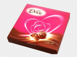 德芙盒装巧克力
