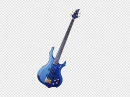 蓝色电吉他