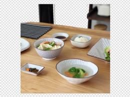 川岛屋陶瓷千段草特色餐盘餐具