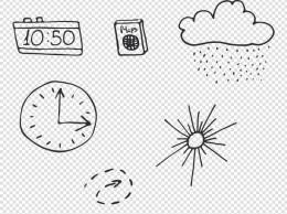 手绘日常元素