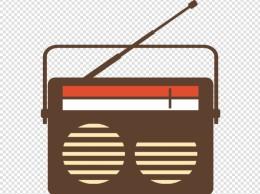 咖啡色FM收音机